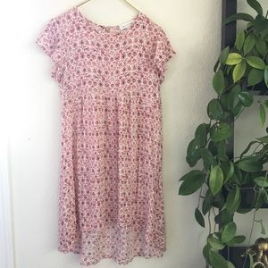 ⭐️ Floral Babydoll Midi Dress